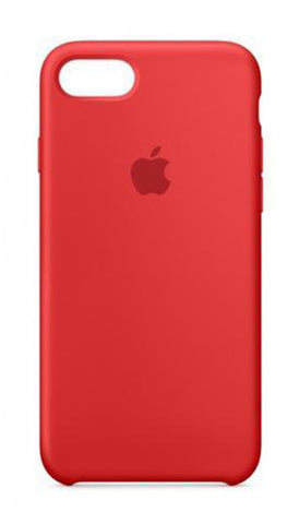 Apple iPhone 7 Silicone Case - Red (Produkt Zyrtar)