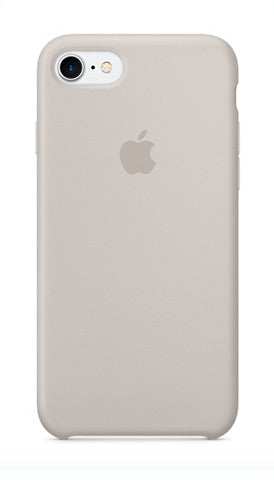 Apple iPhone 7 Silicone Case - Stone Gray (Produkt Zyrtar)