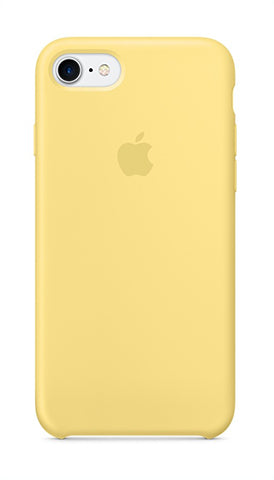 Apple iPhone 8 Silicone Case - Pollen (Produkt Zyrtar)