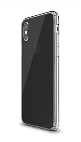 iPhone X Soft  Silicone Case - Gray