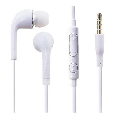 Earpods With In-Line Mic - White