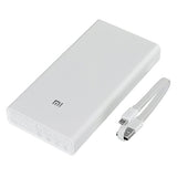 Mi Portable External Power Bank Charger 20000mAh - White