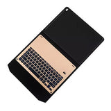 Bluetooth Keyboard with stand plastic cover for iPad Air 2-inch - Gold