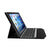 Bluetooth Keyboard with stand plastic cover for iPad Pro 9.7-inch - Silver