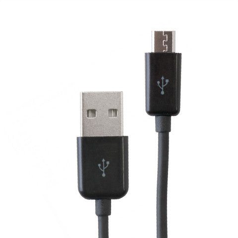 Micro Usb Cable For Smartphone 1m - Black