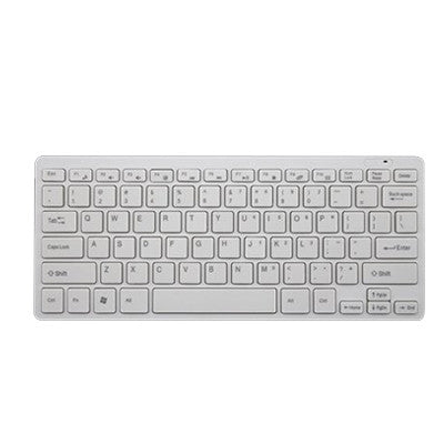 Wireless Keyboard - White