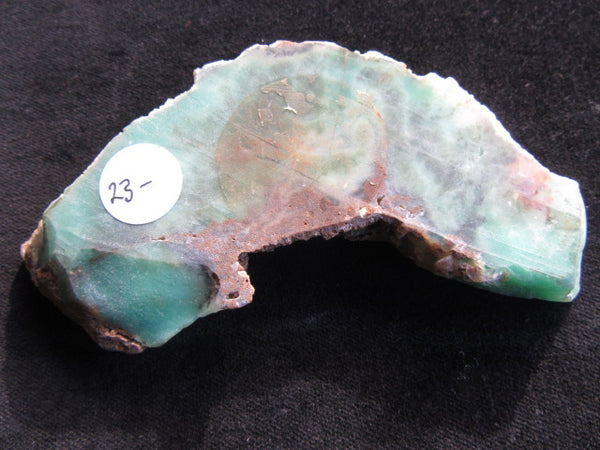 Polished Chrysoprase CH331