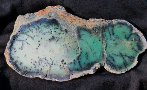 Chrysoprase Polished Slab.  CH 318