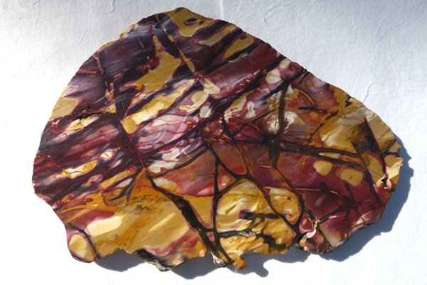 Huge Polished Mookaite slab.   MK255 ......  SOLD