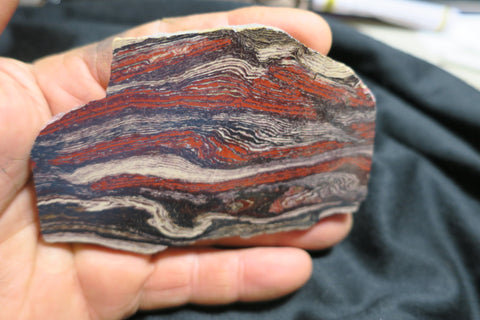 Snakeskin Jasper Polished Slab.  SS 104