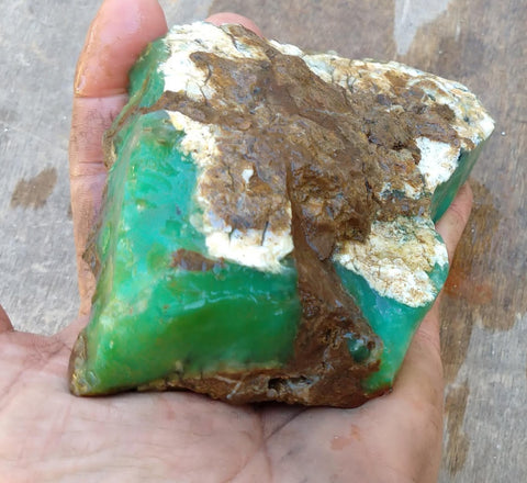 Chrysoprase rough.  CHR 146