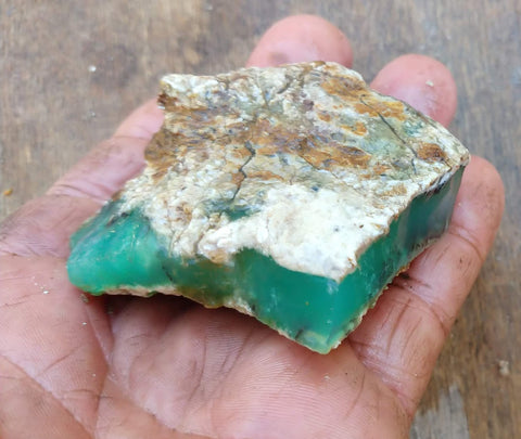 Chrysoprase rough.  CHR 147