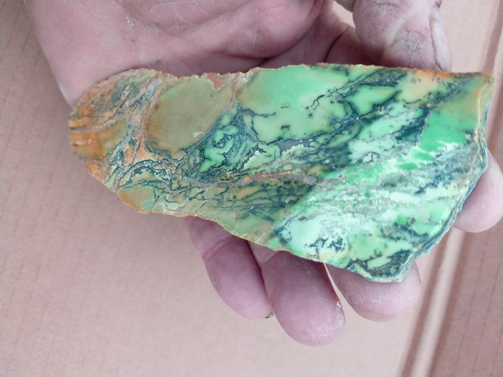 Variscite Polished Slab.  VP 215