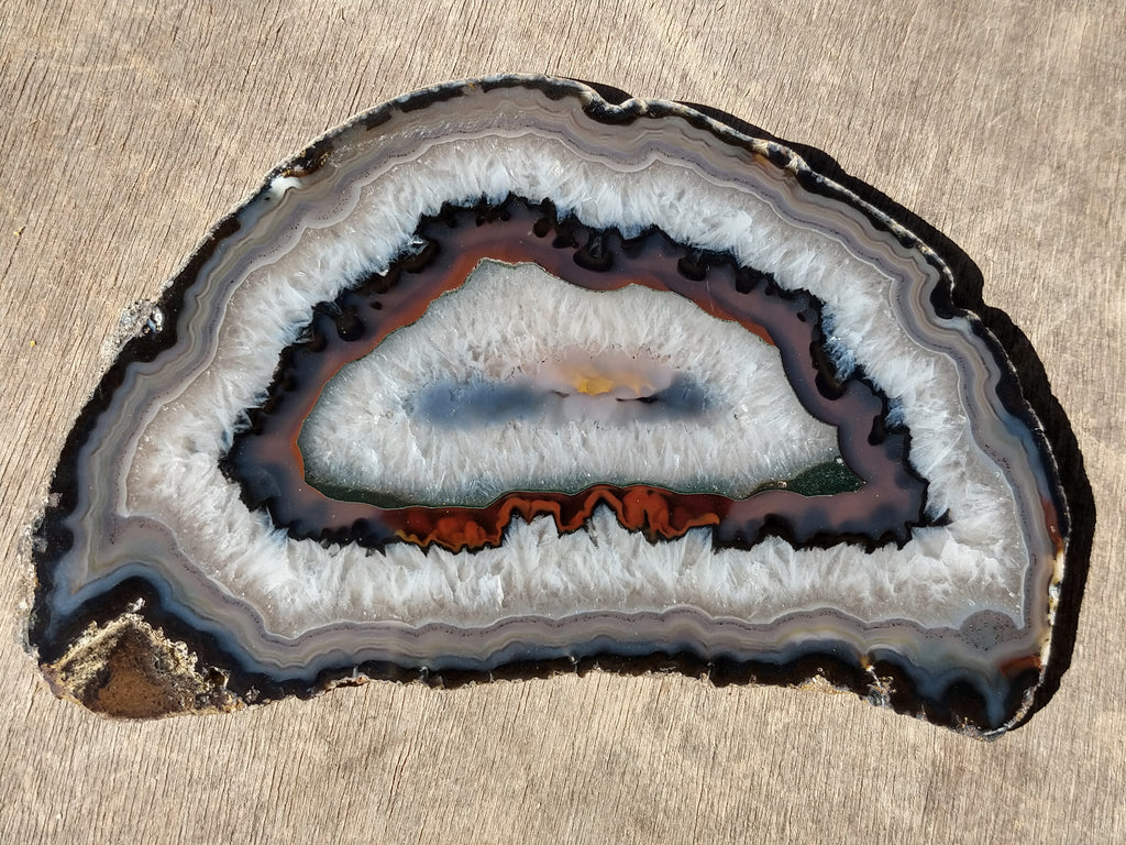 Polished Brazilian Agate . BA102