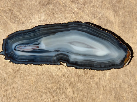 Polished Brazilian Agate . BA104.