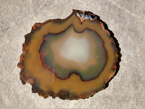 Polished Brazilian Agate . BA105.