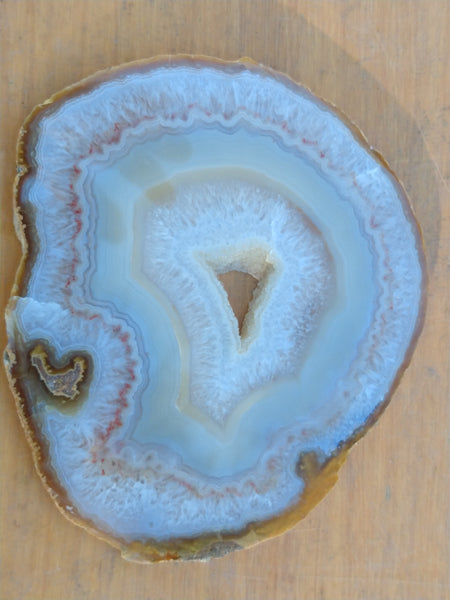 Polished Brazilian Agate . BA106.