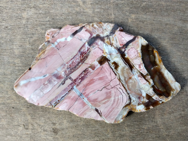 Polished Brecciated Pink Opal  POP133