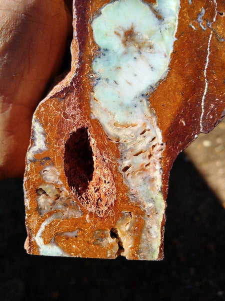 Chrysoprase Rock Block RB264