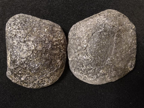 Pair of polished Orbicular Granite. OG158