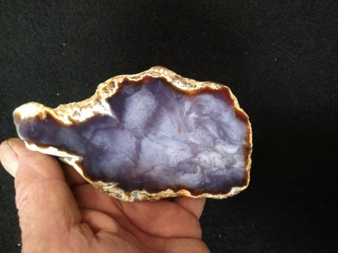 Purple Chalcedony PU107