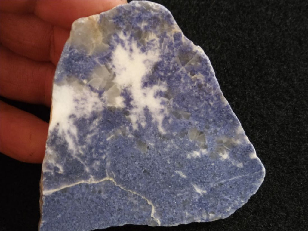 Polished Blue Lepidolite BL217