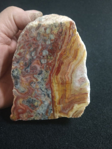Polished Crazy Lace Agate CLA237