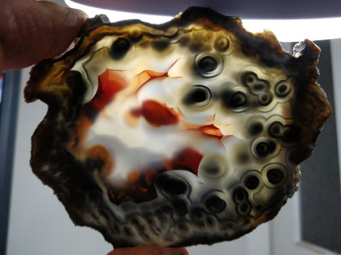 Polished Brazilian Agate . BA115
