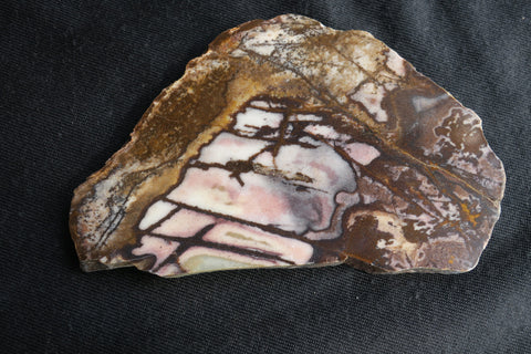 Polished Outback Jasper slab.                                OJ119