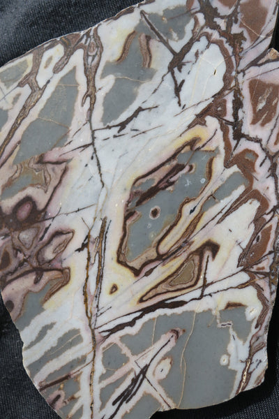 Polished Outback Jasper slab.                                OJ121