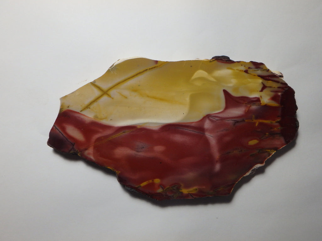 Polished Mookaite slab.   MK237