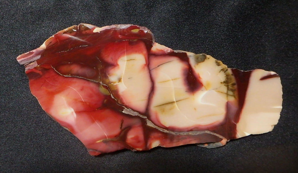 Polished Mookaite slab.    MK250