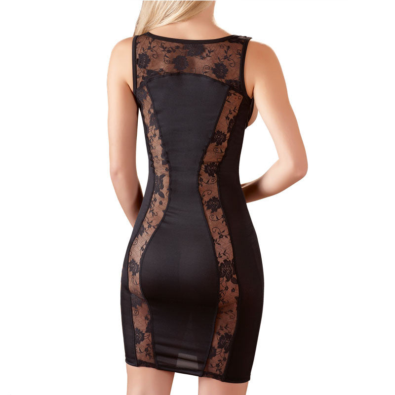Cottelli Collection Mini Dress With Open Front.