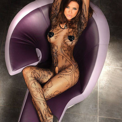 Corsetti Abra Body Stocking UK Size XL to XXL.