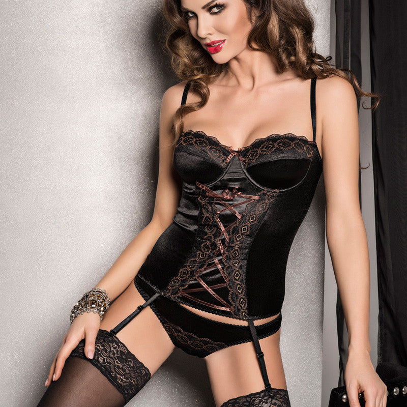 Passion Evane Corset Black.