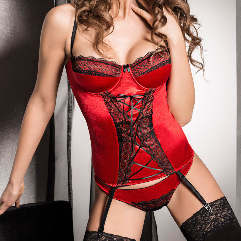 Passion Evane Corset Red.