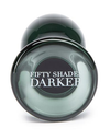 Fifty Shades Darker - Something Darker Glass Pleasure Plug.