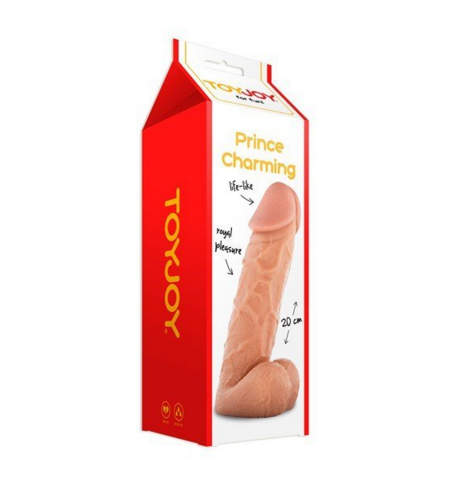Toy Joy Prince Charming 8 Inch Dildo.