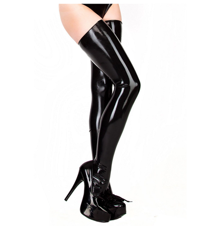Latex Stockings.
