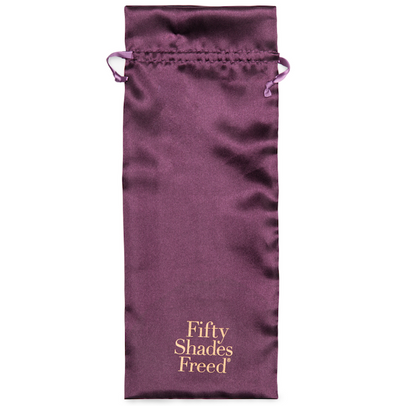 Fifty Shades Freed - It's Divine Glass Beaded Dildo Black.