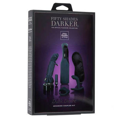 Fifty Shades Darker - Dark Desire Advanced Couples Kit.