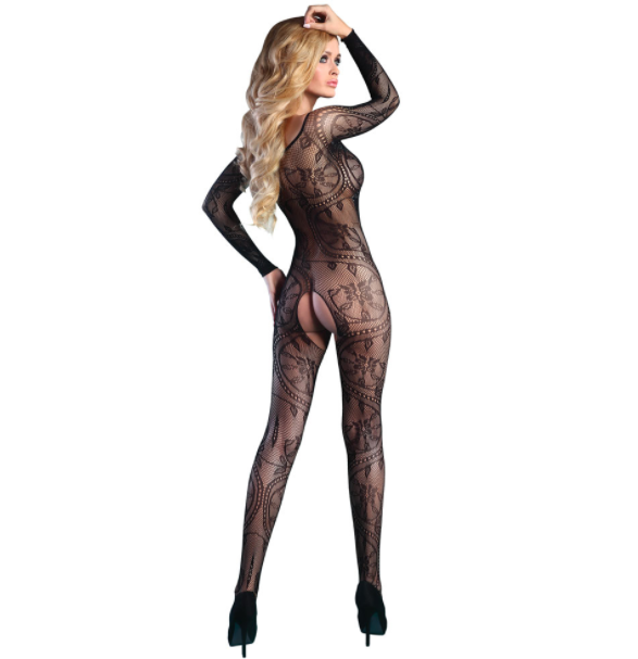 Corsetti Abra Body Stocking UK Size 8 to 12.
