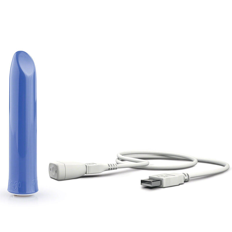 We-Vibe Tango USB Rechargeable Blue Bullet Vibrator.