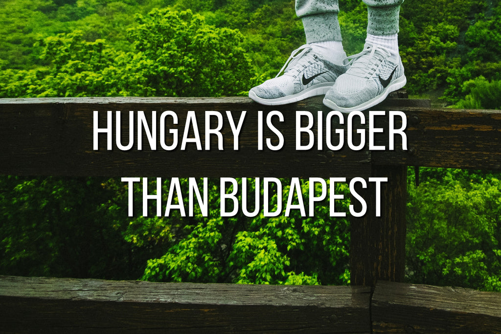 Hungary is bigger than Budapest