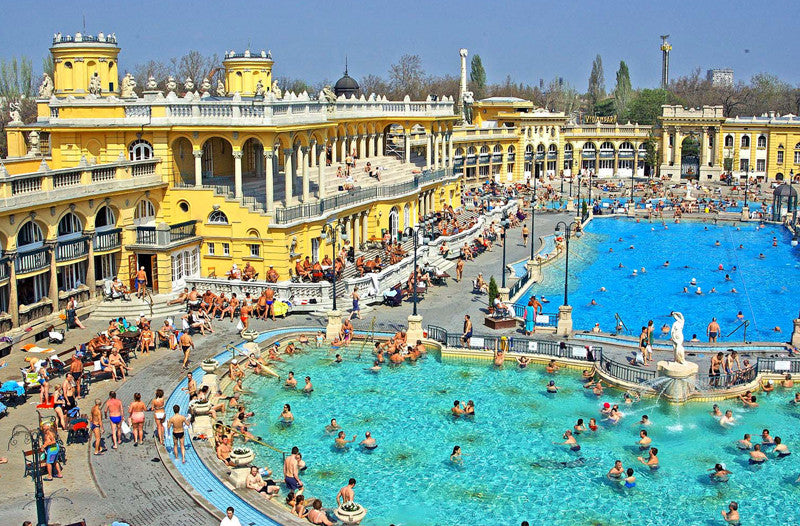 Best Baths in Hungary - Széchenyi Thermal Baths, Budapest