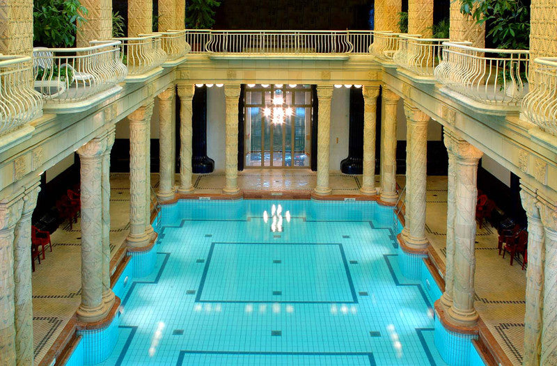 Best Baths in Hungary - Gellért Thermal Bath, Budapest