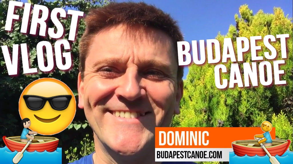 Our First VLOG! Budapest Canoe @ Helicon tour