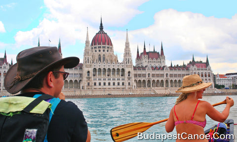 Private Budapest Sightseeing Canoe Tour (½ day)