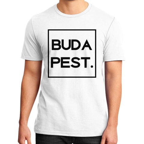 Budapest District T-Shirt White BudapestCanoe.Com