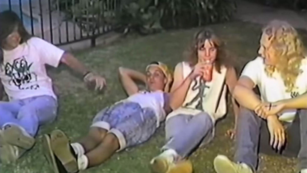 31 Years Ago: CRYPTIC SLAUGHTER live in a Bel Air backyard